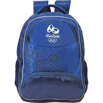 Mochila Bronze Olimpíadas Rio 2016 Azul ref.5957
