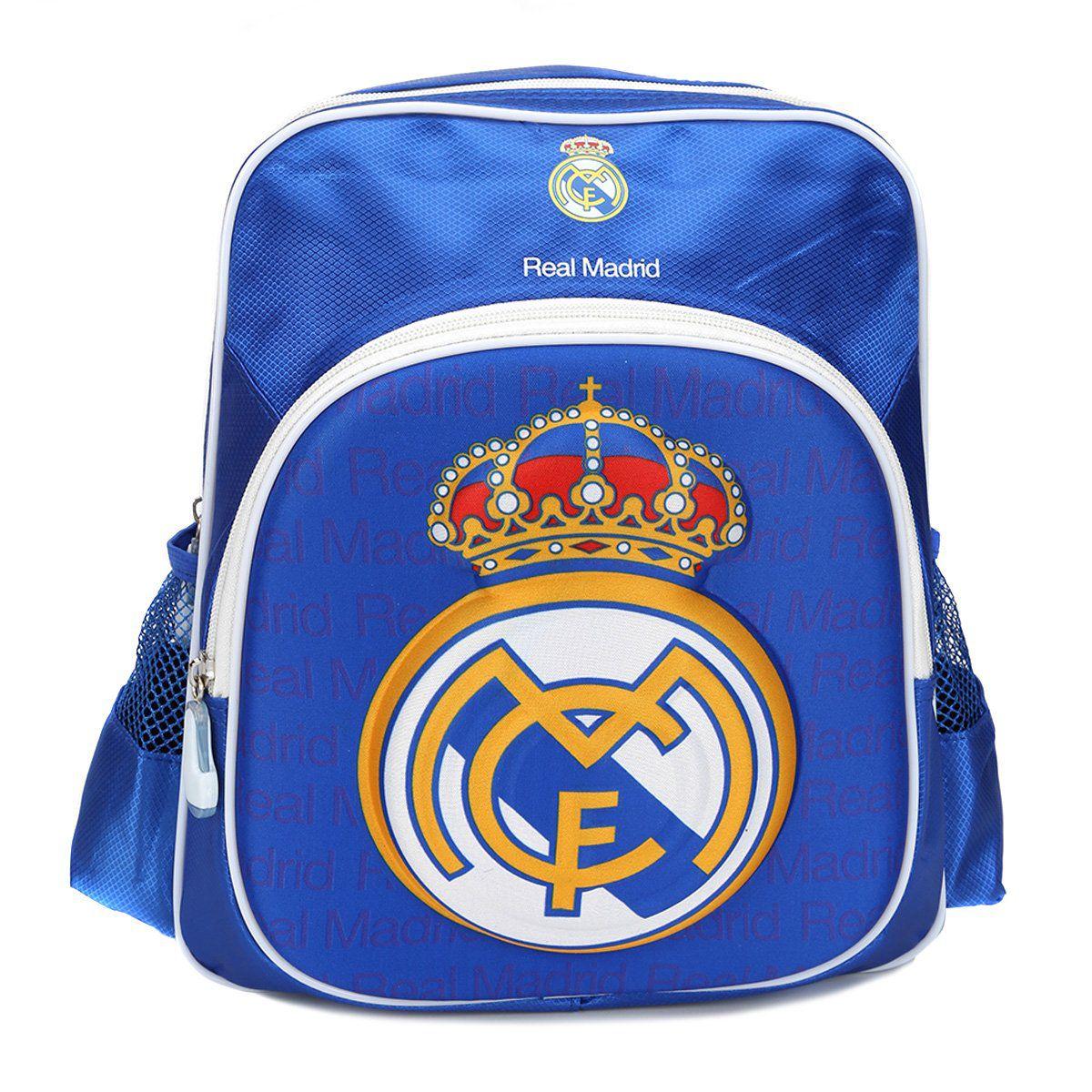 Mochila Real Madrid Escudo 3D Infantil