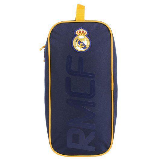 Porta Chuteira Real Madrid DMW Azul Marinho ref. 49215