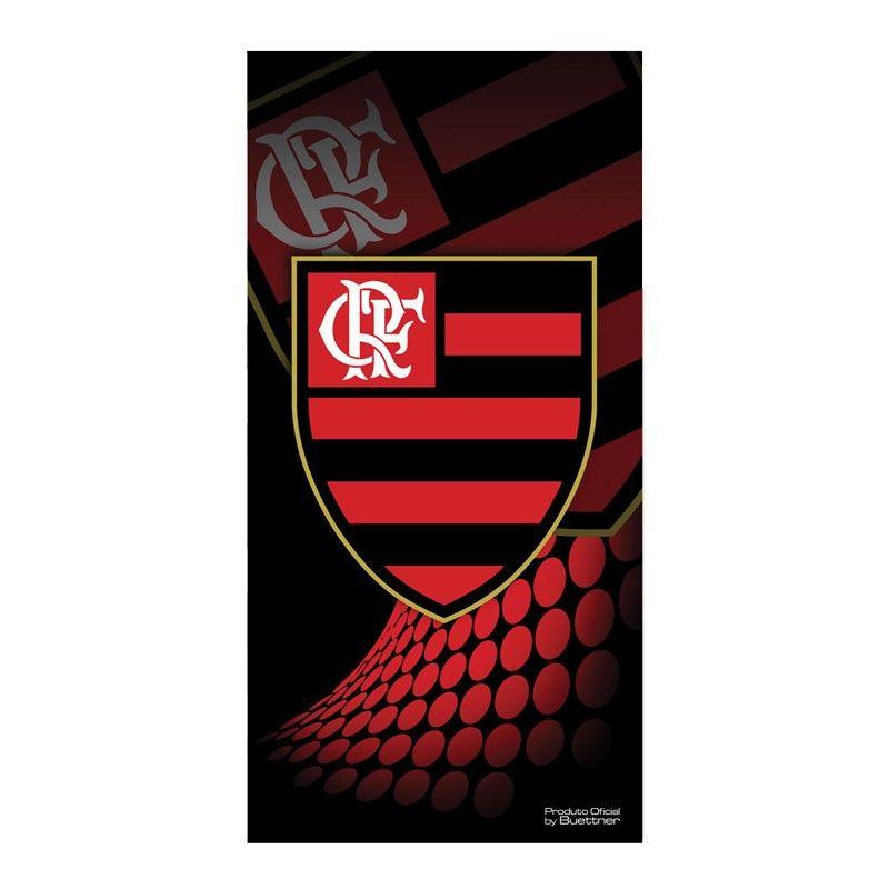 Toalha Flamengo Banho Veludo Estampada 207315