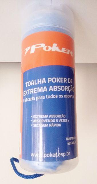 Toalha Poker Esportiva PVA Alta Absorção Média