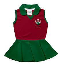 Vestido Pólo Infantil Fluminense Torcida Baby