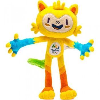 Vinícius - Mascote  Olímpico Rio 2016 30 cm / 45 cm