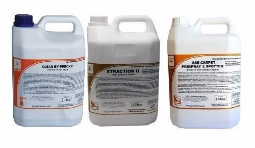 Kit Limpeza Clean By Peroxy,xtraction Il, Sse Carpet 5 Lts
