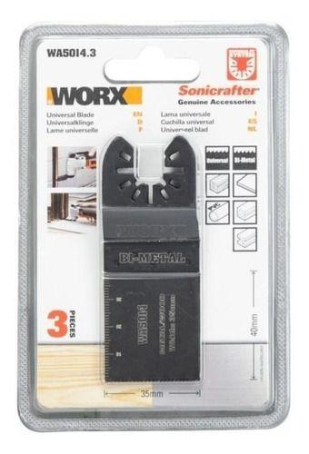 Lamina De Corte 40 X 35 Mm P/ferramenta Multifunção Wa5014