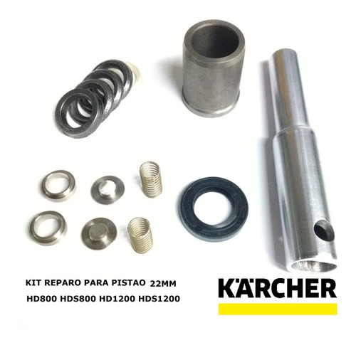4x Jogo De Reparo Cpl Karcher Hd Hds800 Hds Hd1200 Pistão 22