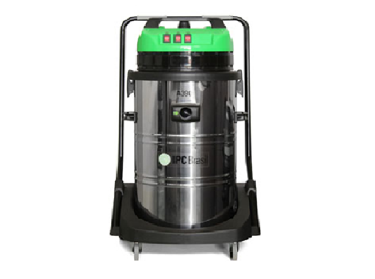 Aspirador de sólidos e líquidos A390 - 3600W - 90 Litros INOX IPC BRASIL