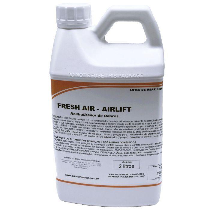 Eliminadores de Odores - Fresh air AIRLIFIT- Spartan 2 LITROS