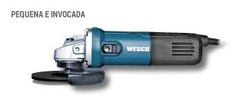 Esmerilhadeira Angular de 4.1/2 Pol. 850W WESCO-WS4700