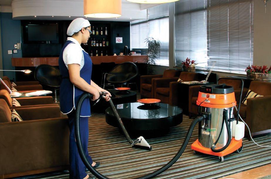 Extratora Carpetes e estofados EJ5811 Inox 80L - 2800W - Profissional - JactoClean
