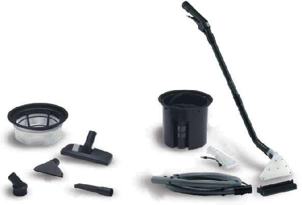 Extratora e aspirador 2 em1 Carpetes e estofados Lava 27 L - 1400W - Profissional - IPC Soteco