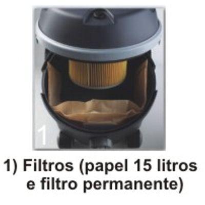 Filtro Permanente Papel Sanfonado Leo - Soteco
