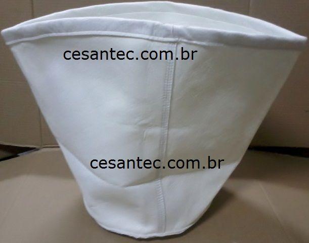 Filtro Saco poliester 62 a 90 litros - IPC / Soteco / Electrolux / Rotterman