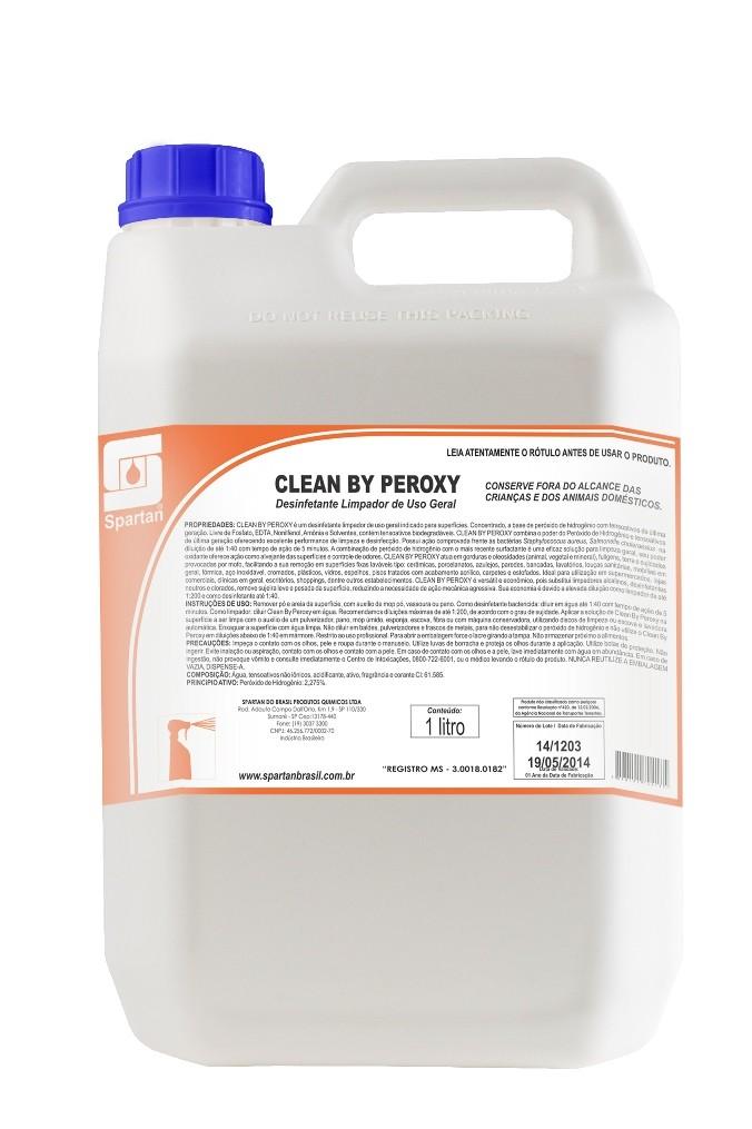 Higienizador e Limpador de Carpete, Estofados em Geral - Clean By Peroxy - Spartan
