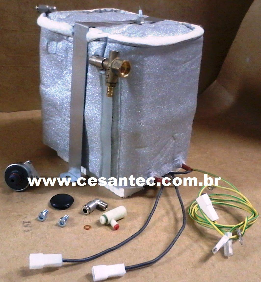 Kit Caldeira 3000 watts GV ETNA - Lavor Pro