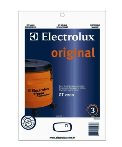 Kit saco descartavel GT2200 Original - Electrolux