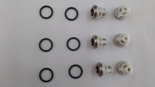 Kit Valvula Sucção/pressão Electrolux L1600/1800/2400 C/6