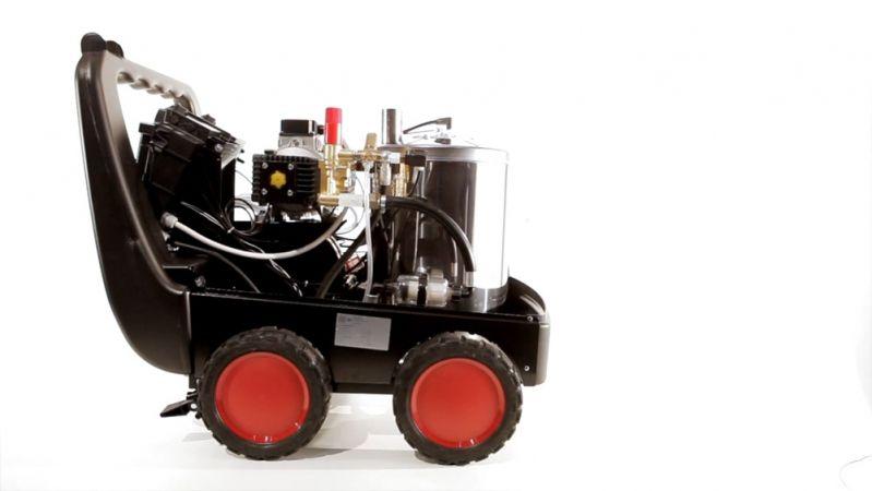 Lavadora de alta Pressão Premium - 2.900 libras - c/ Água quente - Diesel - Profissional Pesado / Industrial - IPC Soteco