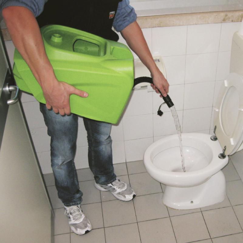 Lavadora e secadora Automática de Piso CT 15 CABO ELETRICO - Pedestre - IPC Brasil