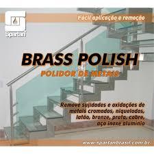 Limpador e Polidor de Metais - BRASS POLISH - Spartan 1 litro