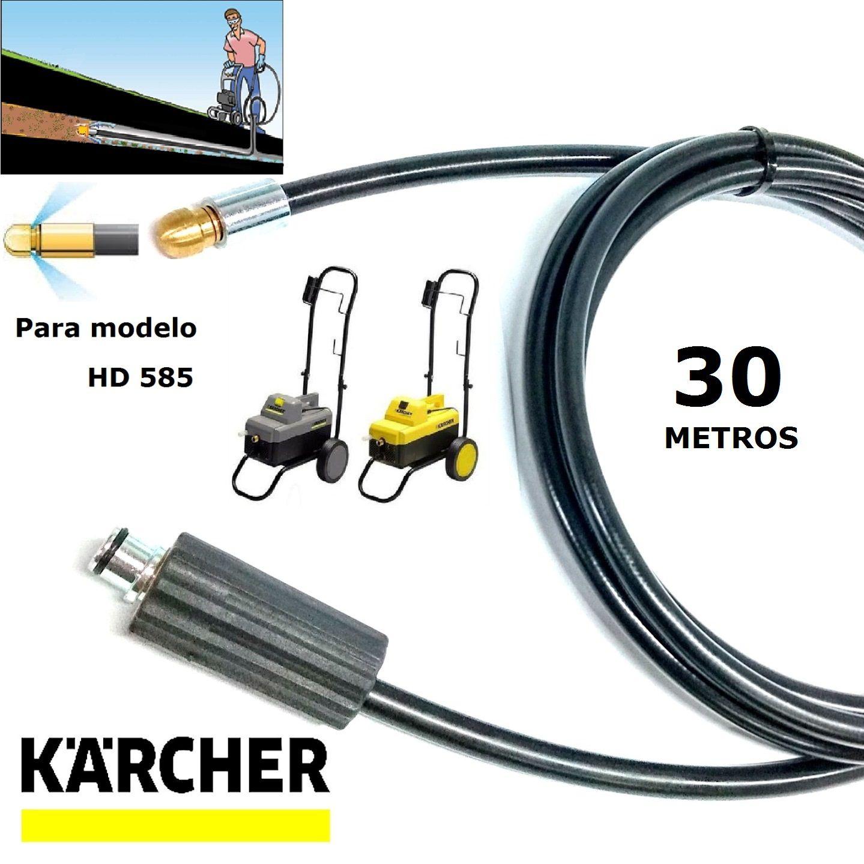 Mangueira Desentupidora De Tubulação 30 METROS HD585 - Karcher