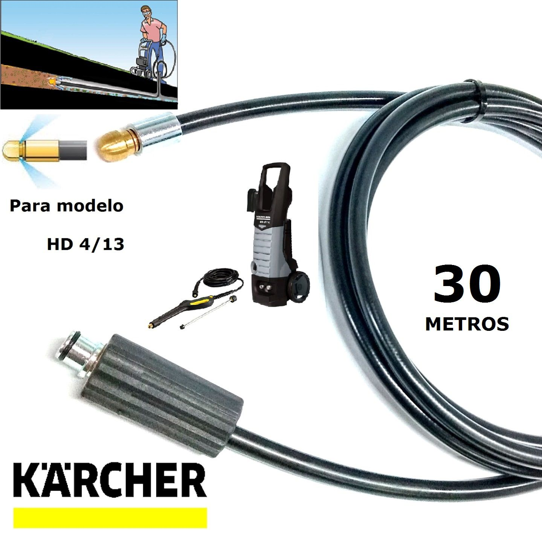 Mangueira Desentupidora De Tubulação 30 METROS HD 4/13 - Karcher