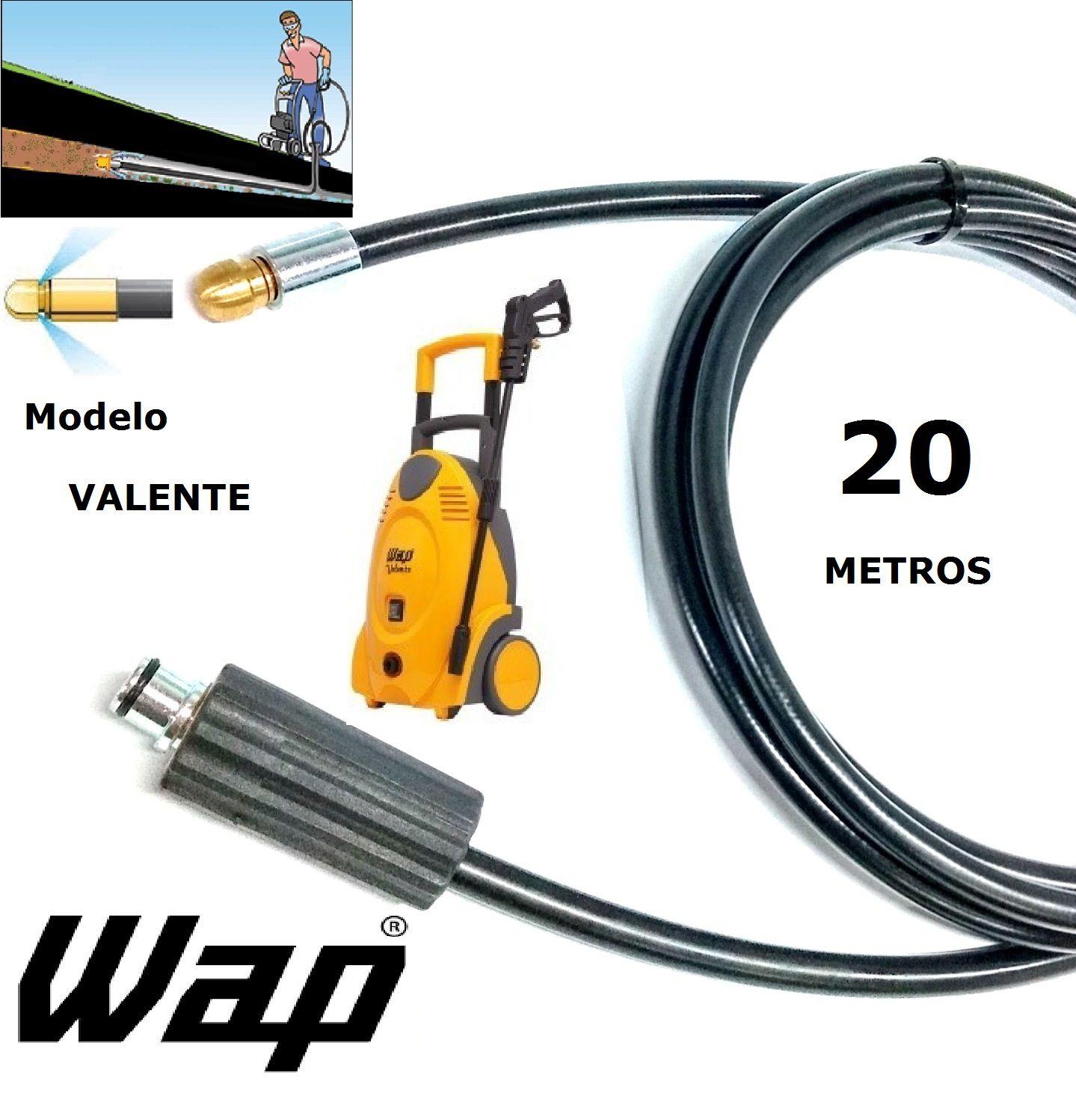 Mangueira desentupidora de tubulação WAP - 20 Metros - Wap VALENTE