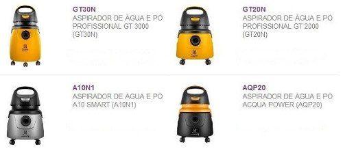 Motor de aspirador Agua e pó BPS1S NOVO - Electrolux 850W