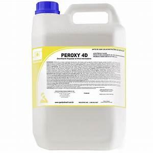 Peroxy 4D - Detergente desinfetante hospitalar - 5 Litros - Spartan