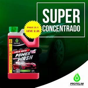 Power Wash Lava Auto  2,2 Litros  Protelim