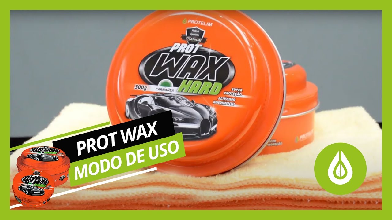 Prot Wax Hard Cera Protetora Automotiva 300g Protelim