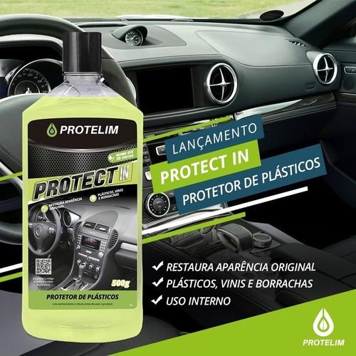 Protect In Renovador de Plásticos Internos 500g Protelim