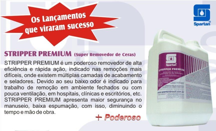Removedor de Ceras e Acabamentos STRIPPER PREMIUM 5 litros SPARTAN