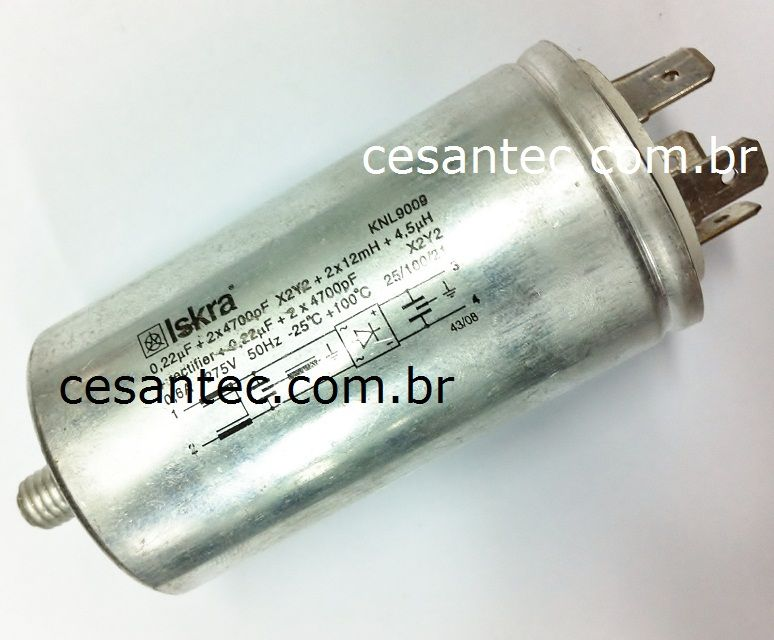 Retificador para bomba by-pass extratora