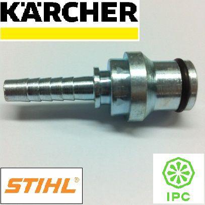 Terminal maquina 1/4 - aço - Karcher - 9001