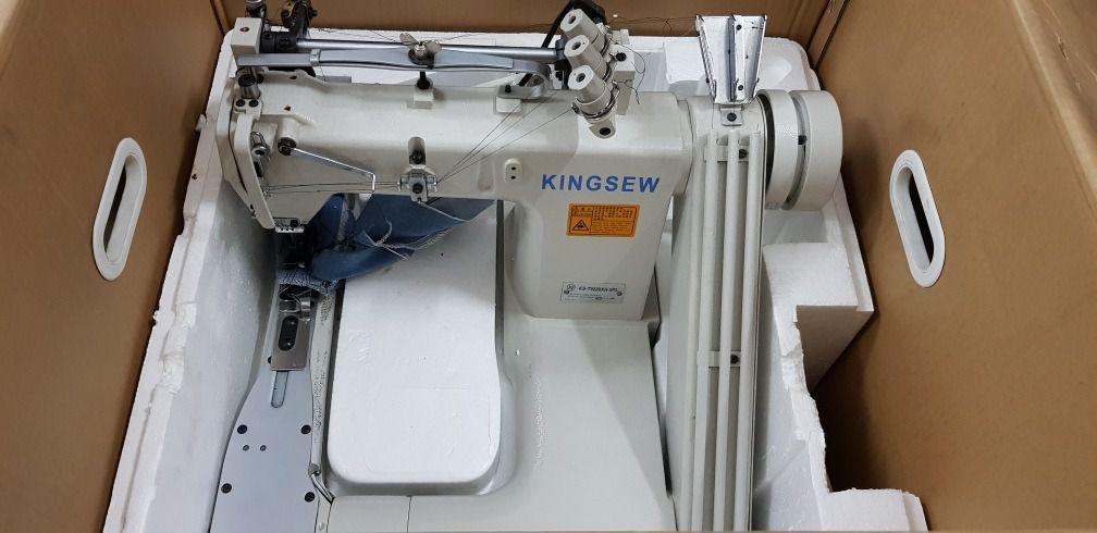 KINGSEW - FECHADEIRA DE BRAÇO DIRECT DRIVE  - BH Máquinas de Costura