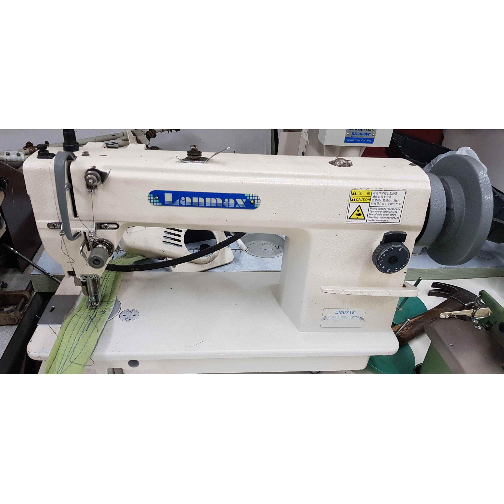 Lanmax Reta Transporte Triplo Usada Bh Máquinas De Costura