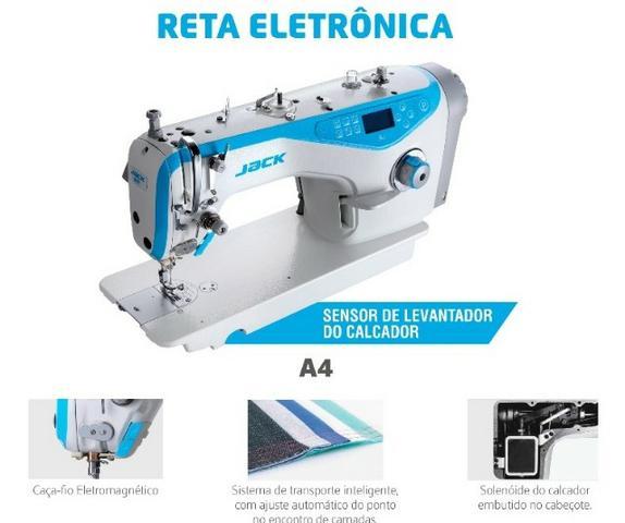 JACK - RETA INDUSTRIAL ELETRÔNICA A4  - BH Máquinas de Costura