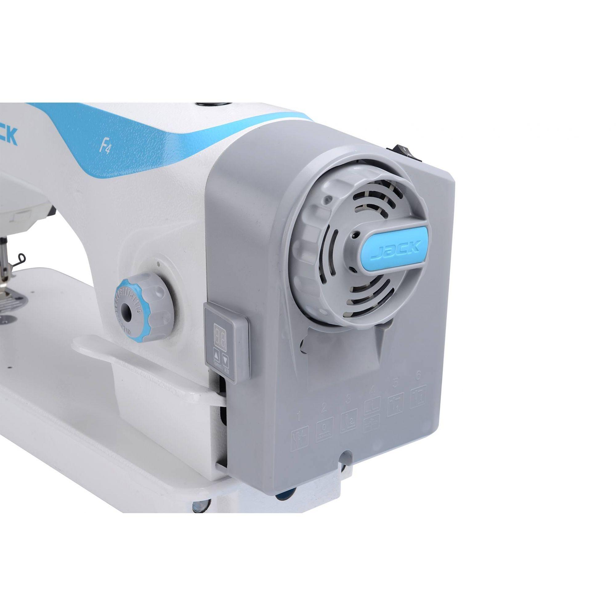 JACK - RETA INDUSTRIAL DIRECT DRIVE F4  - BH Máquinas de Costura