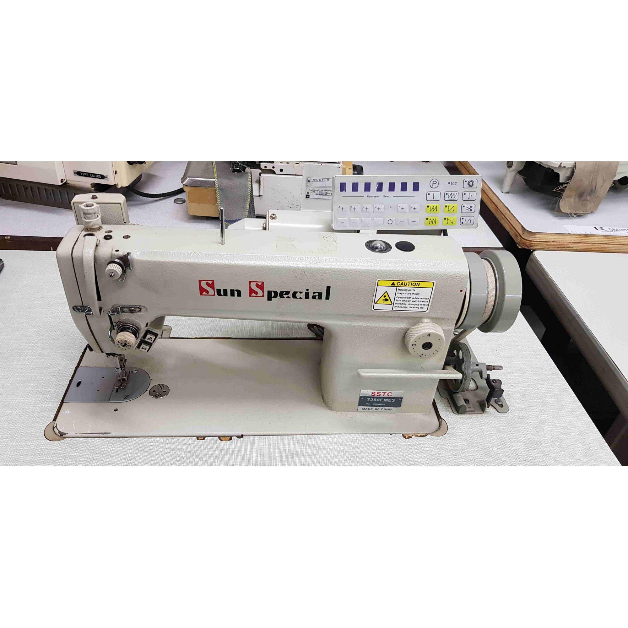 SUN SPECIAL -  RETA ELETRÔNICA USADA  - BH Máquinas de Costura