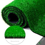 Medida 2,00 x 2,00m - Grama Sintética SoftGrass 12mm - Verde