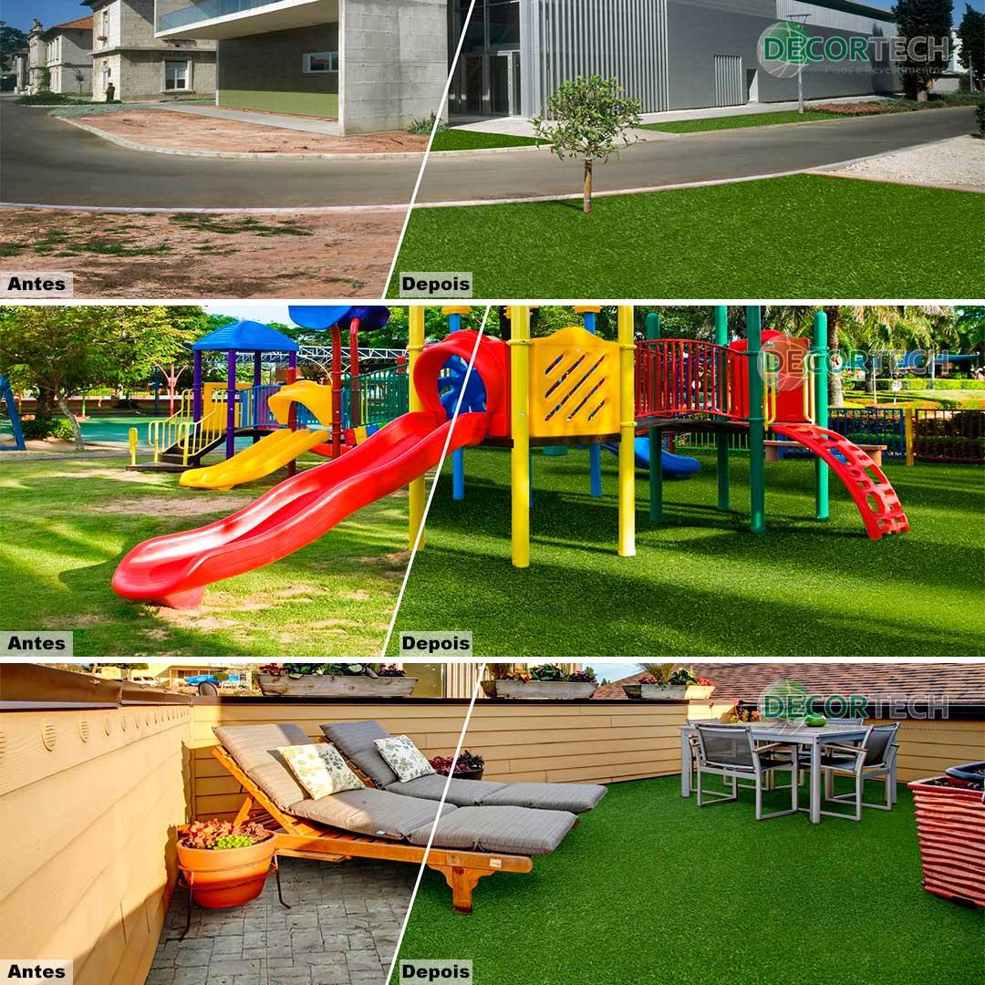 Grama Sintética Garden Grass Rolo Fechado 2,00 x 25,00m (50m²) - Lançamento