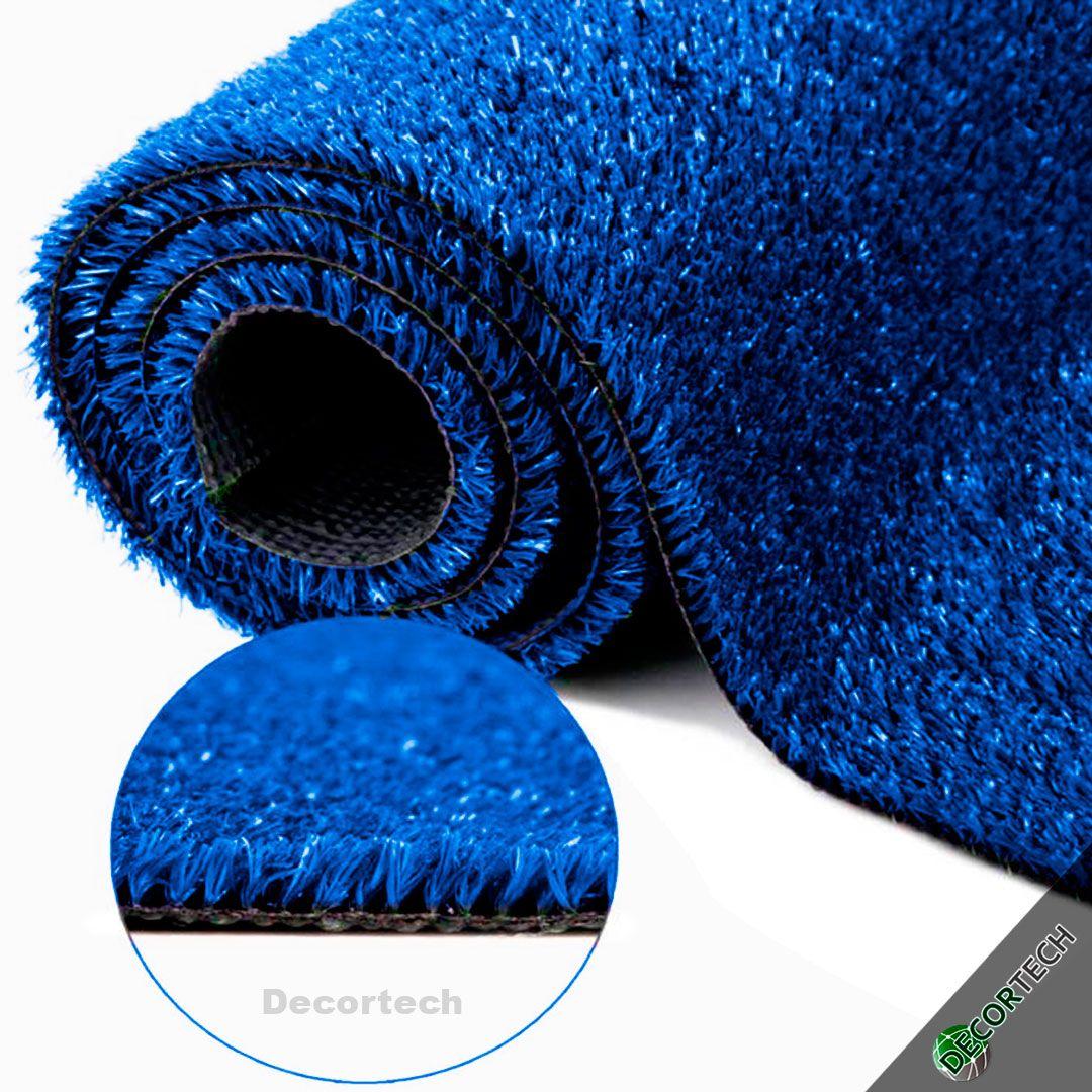 Grama Sintética SoftGrass 12mm - Azul - Colors