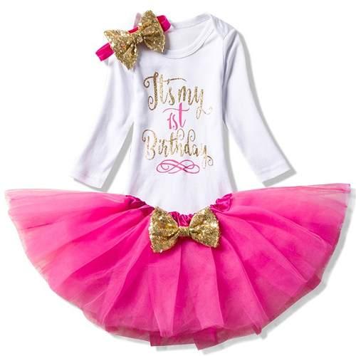 87ddbf3b92 Conjunto Bailarina Pink - Tutu - Lary Dressy Nacionais e Importados