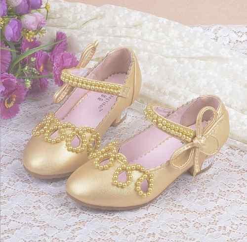 c4fe3b43b8b Sapato Infantil Festa Branco Rosa Princesa Daminha Luxo. Image description  · Image description ...