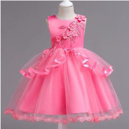 5814b61fe7 Vestido Festa Infantil Daminha Casamento Aniversario Camadas. Image  description · Image description ...