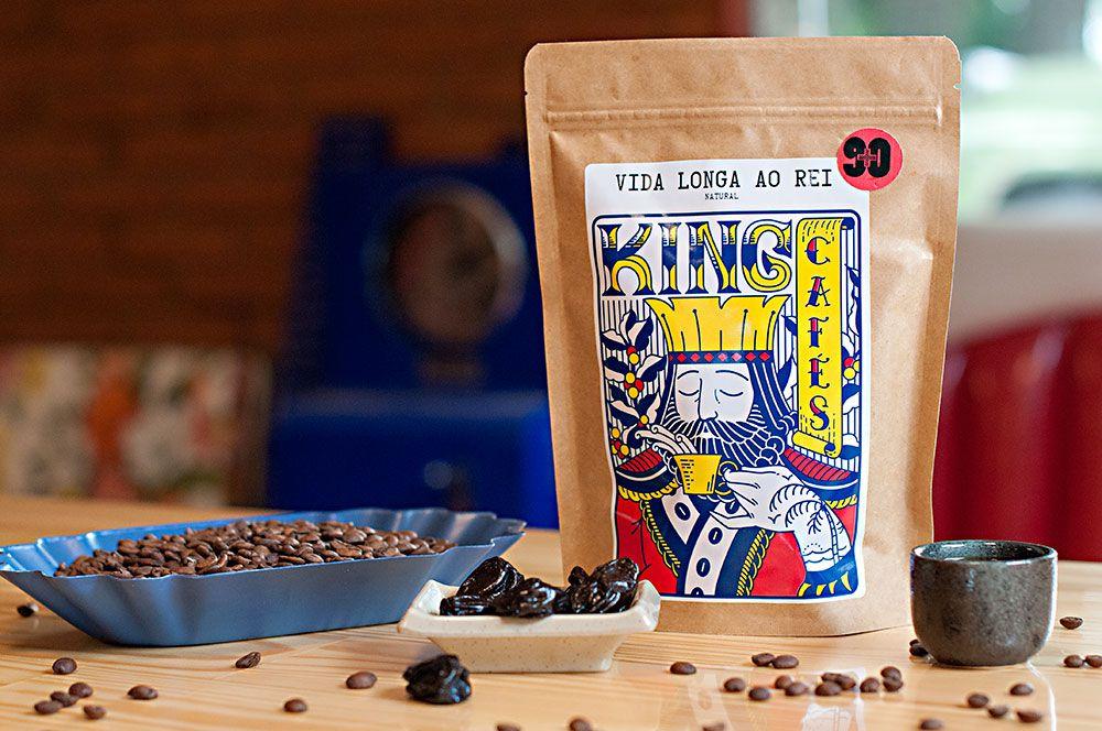 Café Especial Vida Longa ao Rei - Pacote com 250 g