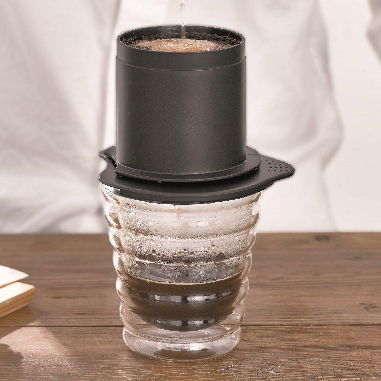 Coador em Inox para Porção Individual Caféor - CFOD-1B - Hario
