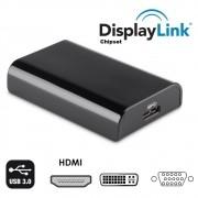 Adaptador Vídeo Usb 2.0 3.0 HDMI VGA Dvi Chipset Displaylink Ic  Usb Displaylink