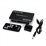 Chave Seletora Hub Switch Hdmi 5 Portas 4k Premium Quality